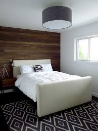 reclaimed wood nightstand bedroom contemporary with accent wall bedroom beige