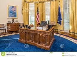 the white house oval office. Little Rock Ar Usa Circa February Table Replica White House S Oval Office Bill Clinton Presidential The