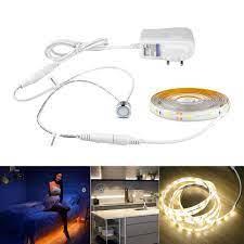 ĐÈN LED Bếp Đèn Cảm Ứng Công Tắc Cảm Ứng Âm Trần 2835 Đèn LED Dây Băng Tủ  Bếp Tủ Quần Áo Tủ Quần Áo Đèn Chiếu Sáng|Under Cabinet Lights