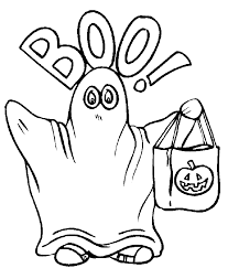 Boo Halloween Coloring Pages Free Printable Coloring Pages For Kids
