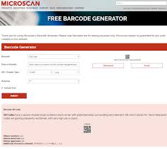 Generator To Free Online Microscan Announces Barcode Upgrade xqwvgTvEUY