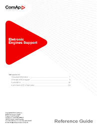 comap electronic engines support 04 2016 pdf engines