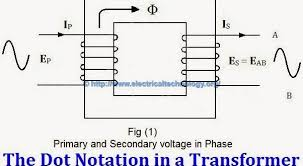 three phase motor power control wiring diagrams transformer phasing the dot notation and dot convention
