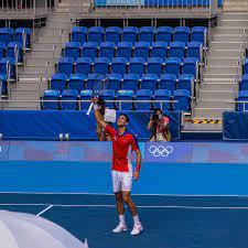 Djokovic Wins First Olympic Match in ...