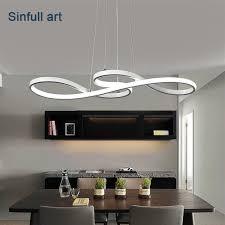 diy lighting fixtures. Modern Led Pendant Lights Dining Room Minimalism DIY Hanging Lamp Bar Suspension Luminaire Ceiling Aluminium Lighting Diy Fixtures L