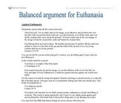 arguments on euthanasia essay dissertation literature review  arguments on euthanasia essay