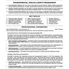 Environmental Health Specialist Sample Resume Ideas Collection Resume Templates Safety Technician Assistant Safety 8