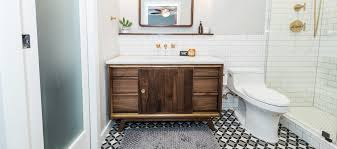 Bathroom Remodeling Contractor Adorable Midcentury Modern Bathroom Before After Irwin Construction