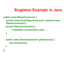 Singleton Pattern In Java Best Design Inspiration