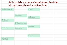 Appointment Calander Sms Text Reminders For Google Calendar Appointment Reminder