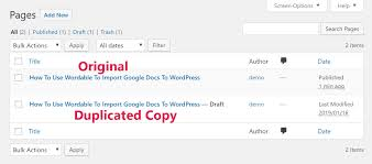 Copy Page How To Duplicate A Wordpress Page Or Post In Mere Seconds