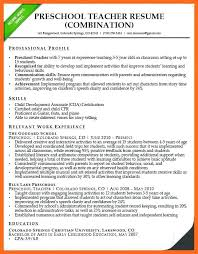 Preschool Teacher Assistant Resume Preschool Teacher Resume Preschool Teacher Resume Sample Resume 32