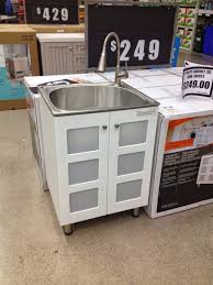 homeot canada laundry sink cabinet glacier bay and tub utility home depot utility sink and cabinet