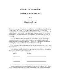 Corporate Meeting Minutes Form Corporate Meeting Minutes Template 3 Guatemalago