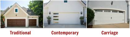 garage door stylesGarage Door Styles and Materials for Exterior Home Design  Door