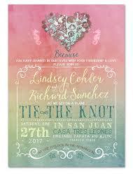 Beach Invitation Digital Beach Wedding Invitation Rainbow Nautical Hearts