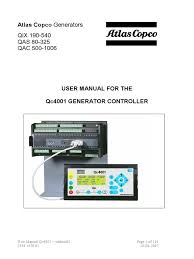 user manual qc4001 manual relay power supply