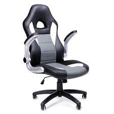 SONGMICS Chaise de Bureau Confortable Fauteuil de Bureau Siège PU ...