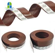 self adhesive silicone door sweep weather stripping bottom seal