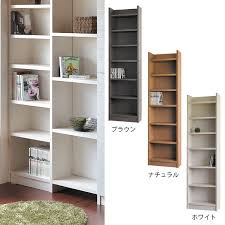 bookshelf thin fashion display racks high type slim modern wall storage shelf storage furniture width