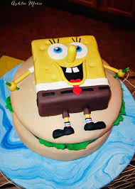 Spongebob Krusty Burger Birthday Cake Ashlee Marie Real Fun