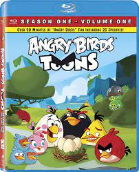 Amazon.com: Angry Birds Toons - Season 01, Volume 01 [Blu-ray]: Lynne  Guaglione, Eric Guaglione: Movies & TV