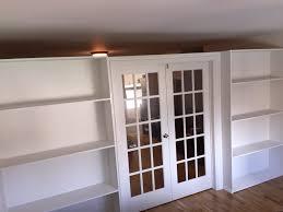 Custom Bookcase Walls