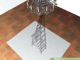 rewire a chandelier image titled clean a crystal chandelier step 2 rewire chandelier arms