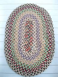 round rag rug crochet pattern round rag rugs australia round rag rug pattern antique rag rug primitive vintage braided multi color 51 x 34 oval handcrafted
