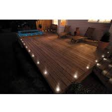 outdoor stair lighting lounge. Outdoor Recessed Deck Lighting Lounge Chairs Wood Floor Plant Stair Pot Incandescent Uplight Reflector Decoration Led Lamp O