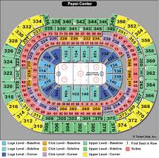 Colorado Avalanche Seating Chart With Seat Numbers Colorado Avalanche Seating Chart With Seat Numbers