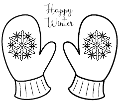 Just pick a coloring sheet, pay, and download! Happy Winter Snowflake Mittens Coloring Page Coloring Rocks