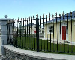 wrought iron fence ideas.  Wrought Wrought Iron Fence Styles Security Ideas For The Home And Garden  Throughout Wrought Iron Fence Ideas