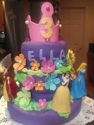 Birthday Cake Designs For 3 Year Olds Princess Birthday Cake For 3 Year Old Special Girl
