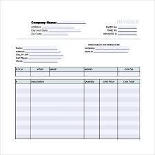 auto body repair invoice sample auto repair invoice template 14 download free