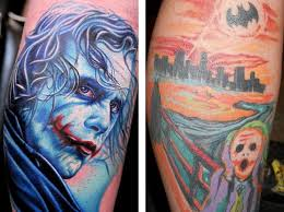 Tatuuj Jokera Czyli Szkice Tatuażu I Zdjęcia