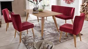 Esstisch Sessel Rot