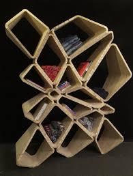 interesting furniture design. Interesting Shelf Design In Random-like Cells Position Furniture D