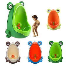 Arzil Cute Frog Potty Toilet Training Urinal For Boys Children