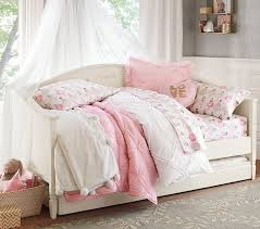 girl daybed with trundle for perfect madeline pottery barn plans 0