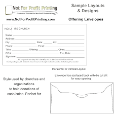 Church Offering Envelopes Templates Free Custom Envelope Template