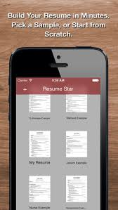 app resume resume star pro cv maker and resume designer with pdf output to