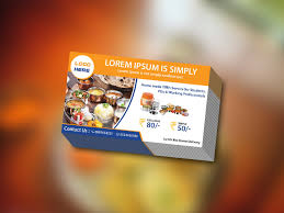 Visiting Card Design For Catering Services Catering Business Cards Templates Free Download Archives