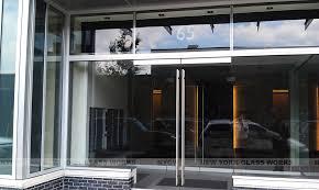 glass storefront door. Frameless Glass Storefront Door And Doors
