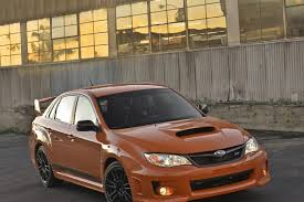 Subaru Wrx Special Edition And Limited Numbers