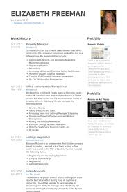 apartment manager resume. sample property manager resume resume ...