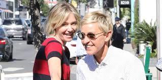 Ellen And Portia Pics Ellen Degeneres Wife Portia De Rossi Caught Kissing