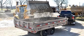 diamond c trailers deck over dump trailer 25dod
