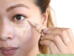 image led apply makeup for a fresh and clean look step 2