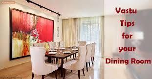 vastu tips for your dining room